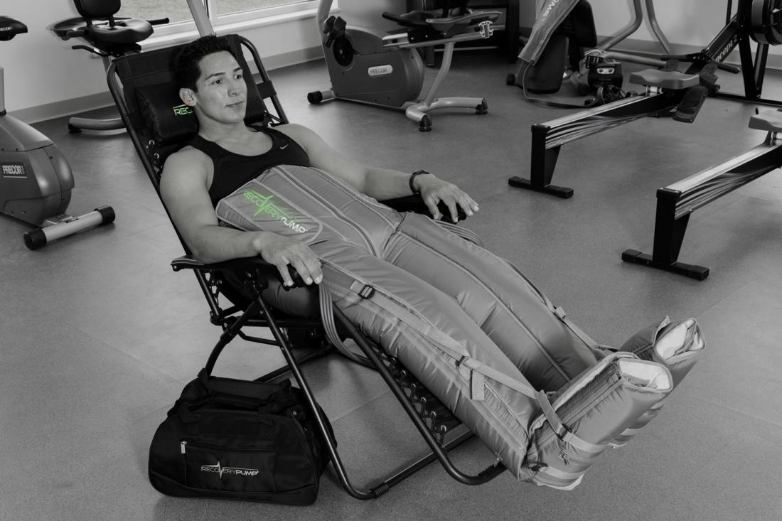 Muscular Pain Sports Recovery with Recovery Pump
